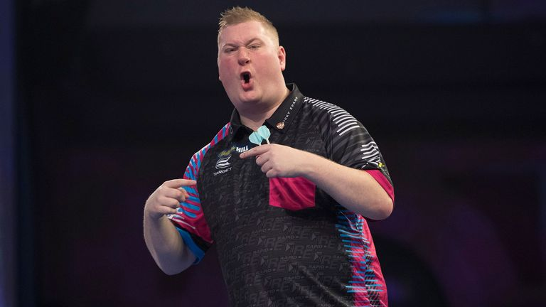 Ricky Evans reached his first Players final but could not stop the Iceman