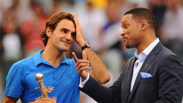 Federer last won at the Caja Magica in 2012 where he was presented with the trophy by actor, Will Smith