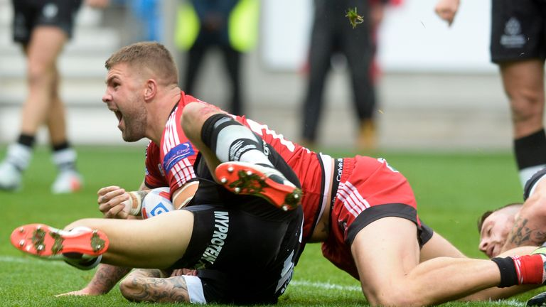 Ryan Lannon will hope to make his Hull KR debut having joined from Salford
