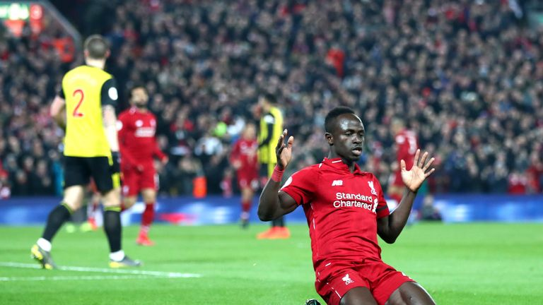 Mane says he is happy to play in any forward position for Liverpool