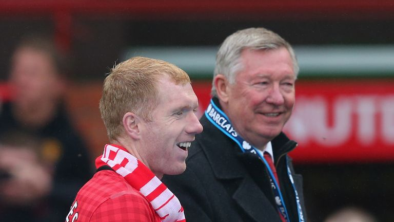Paul Scholes came through the Manchester United academy