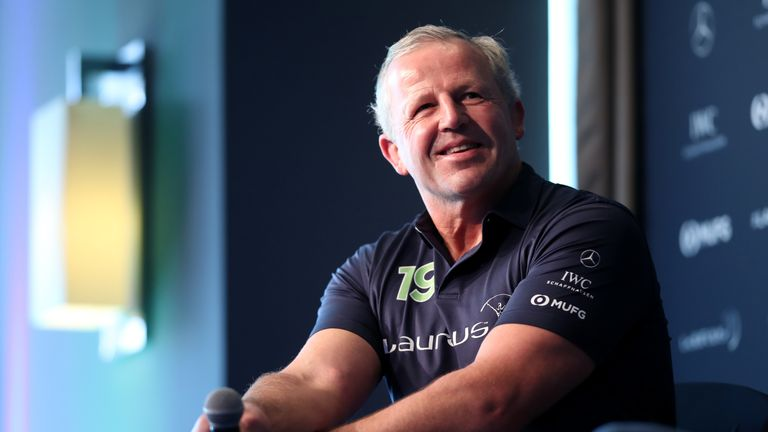 Laureus academy chairman Sean Fitzpatrick was speaking during a Rugby World Cup discussion