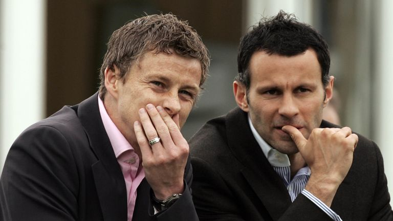 Ole Gunnar Solskjaer should be given the job quietly, says Ryan Giggs