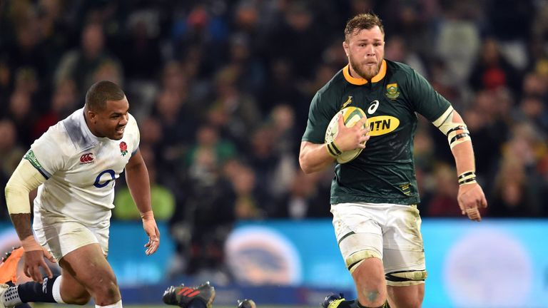 The No 8 on a trademark charge for South Africa