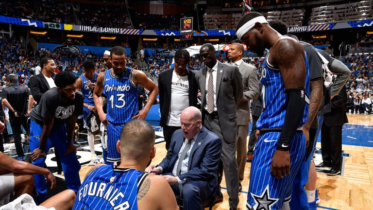 Steve Clifford was brought in to improve the Magic's defensive game