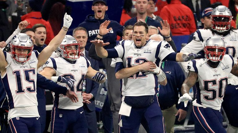 New England Patriots beat LA Rams to claim a sixth Super Bowl and start their quest for number seven against Pittsburgh