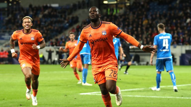 Ndombele has scored twice in the Champions League this season