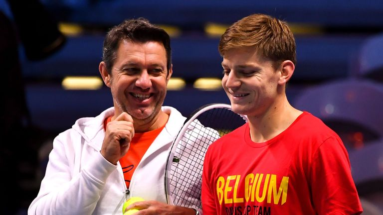 Thierry van Cleemput has previously worked with David Goffin