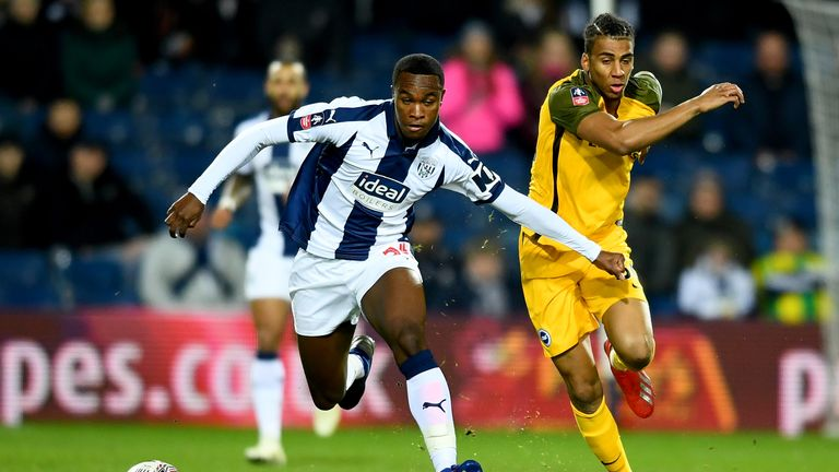 It was a close game until extra-time at The Hawthorns