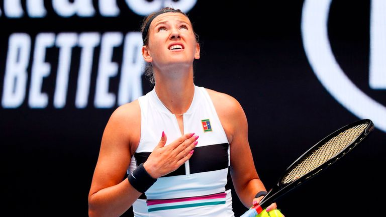 Victoria Azarenka wants to be a good example to mums