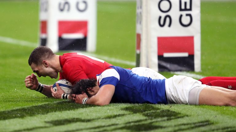 Wales needed a determined second half comeback to beat France in the opening match