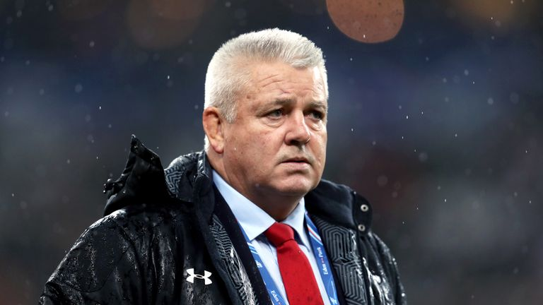 Warren Gatland's Wales have won a record-equalling 11 Tests in a row