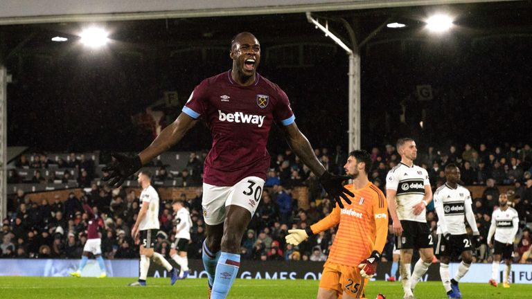Michail Antonio sealed West Ham's victory over Fulham