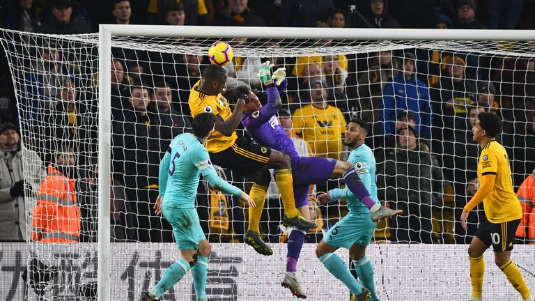 Willy Boly scores his dramatic leveller