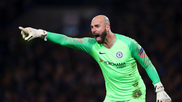 Willy Caballero is available on a free transfer this summer