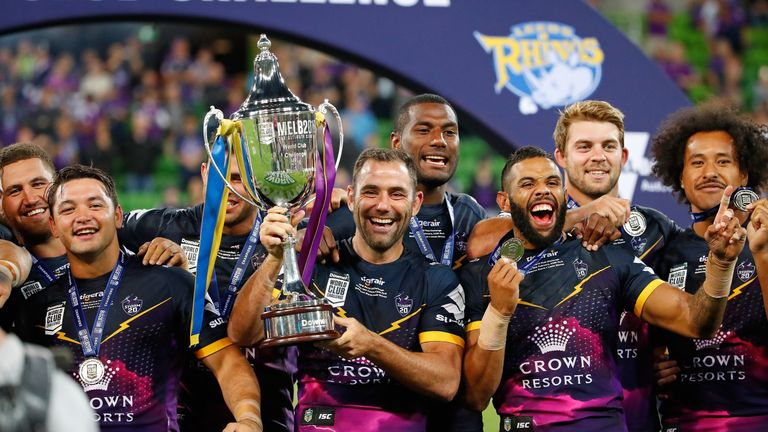 Melbourne Storm beat Leeds Rhinos to win the 2018 World Club Challenge