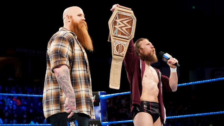 Daniel Bryan's eco-friendly WWE title is on the line in the Chamber this weekend
