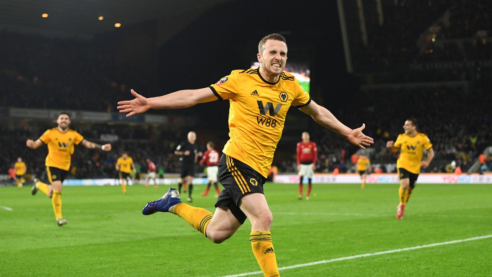 e07fc67ddf9 Wolves 2 - 1 Man Utd - Match Report   Highlights
