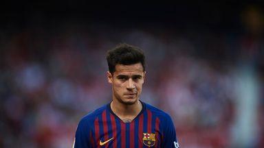 Philippe Coutinho was booed by Barcelona fans last season