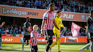 Woody was the mascot for Brentford's Championship fixture against Reading earlier in the season ©obfcp.co.uk/Mark D Fuller