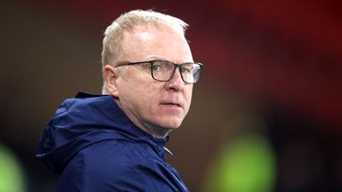 Scotland sack McLeish