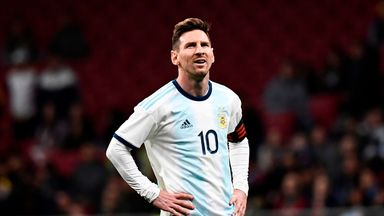 Messi's withdrawal 'a precaution'