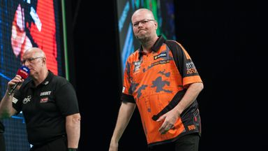 Raymond van Barneveld's fight for Premier League survival continues in Rotterdam