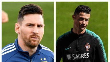 Messi, Ronaldo back on the scene