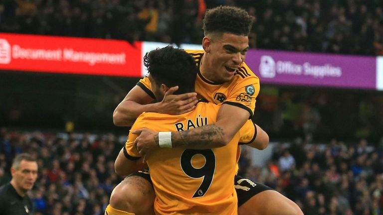 Highlights from Wolves' 2-0 win over Cardiff in the Premier League