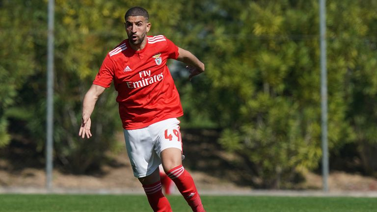 Adel Taarabt finally played for Benfica's first team