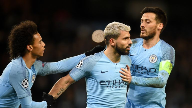 Manchester City are one of four English clubs left in the competition and are the bookmakers' favourites to win