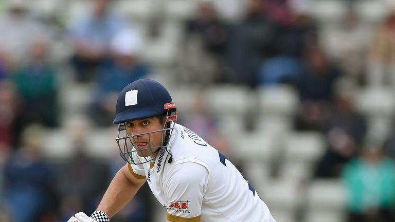 Cook struck an unbeaten 150 in Essex's warm-up match against Cambridge MCCU