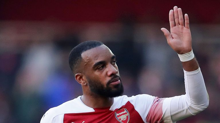 Alexandre Lacazette is suspended for Arsenal