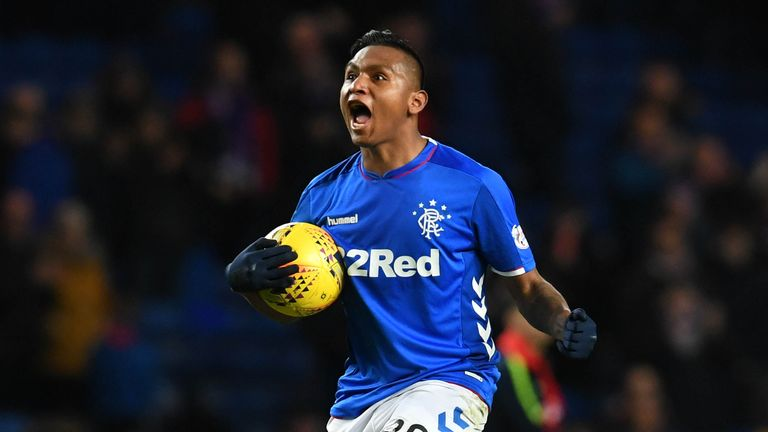 Alfredo Morelos extended his Rangers contract until 2023 earlier this year
