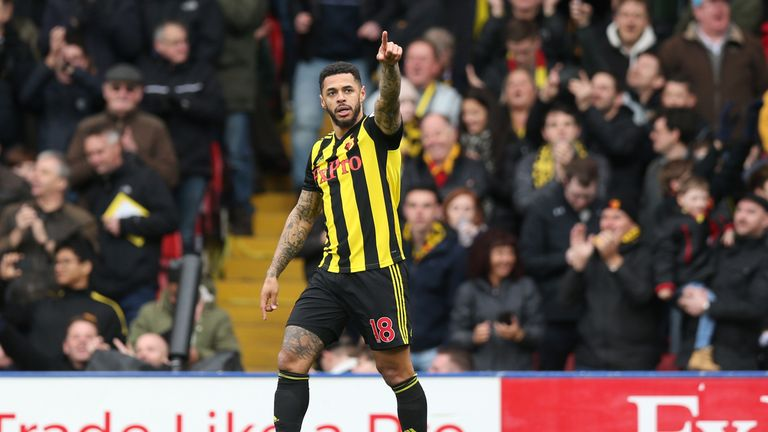 Andre Gray's goal game barely two minutes after coming on