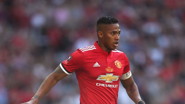 Antonio Valencia has won two Premier League titles, the FA Cup, two League Cups and the Europa League since joining United from Wigan 10 years ago