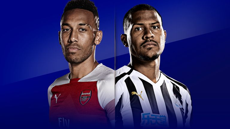Arsenal vs Newcastle is live on Sky Sports on MNF