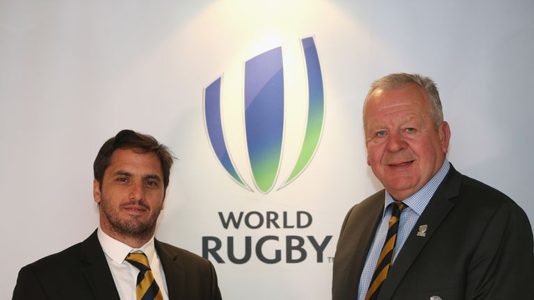 World Rugby Chairman Sir Bill Beaumont (right) and Vice-Chairman Agustin Pichot (left) have come under fire after the organisation's World League proposal