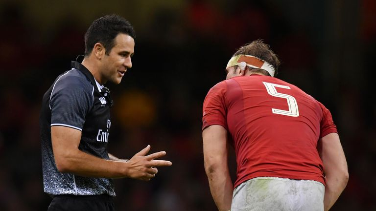 Referee communication at international level in rugby is something that should be improved