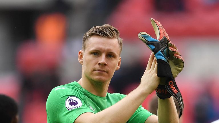 Bernd Leno says Jesse Lingard's celebration motivated Arsenal