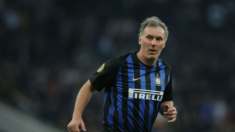 Laurent Blanc played for Inter Milan at the peak of his powers