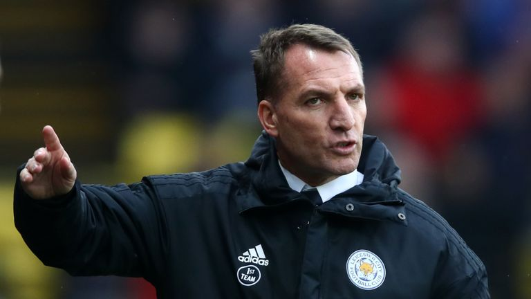 Rodgers left Celtic to return to the Premier League with Leicester
