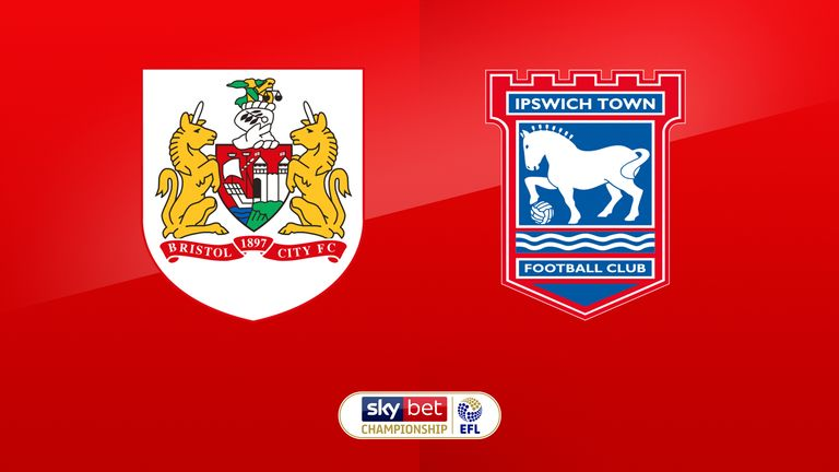 Image result for Bristol City vs Ipswich Town