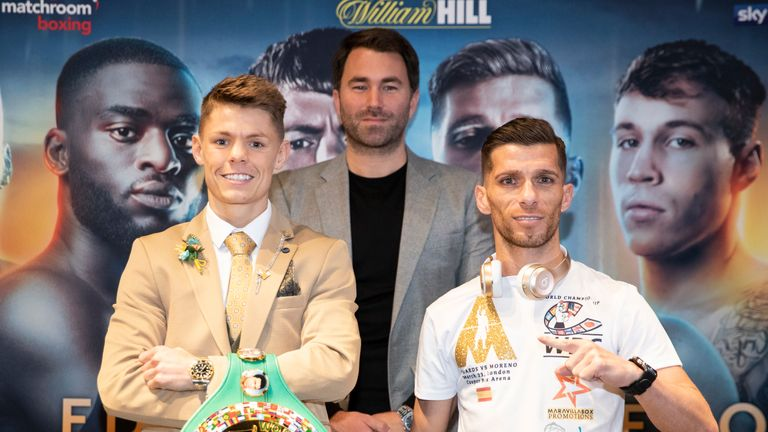 Edwards vs Moreno: Charlie Edwards vows to start WBC title reign with emphatic victory | Boxing News |