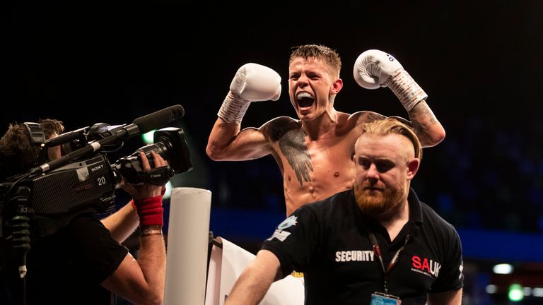 Edwards returns to The O2 for the second defence of his WBC title