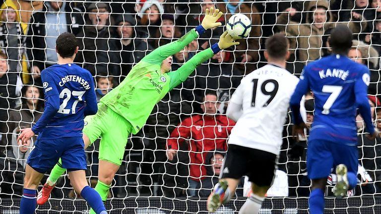 Fulham 1-2 Chelsea: Gonzalo Higuain and Jorginho secure victory