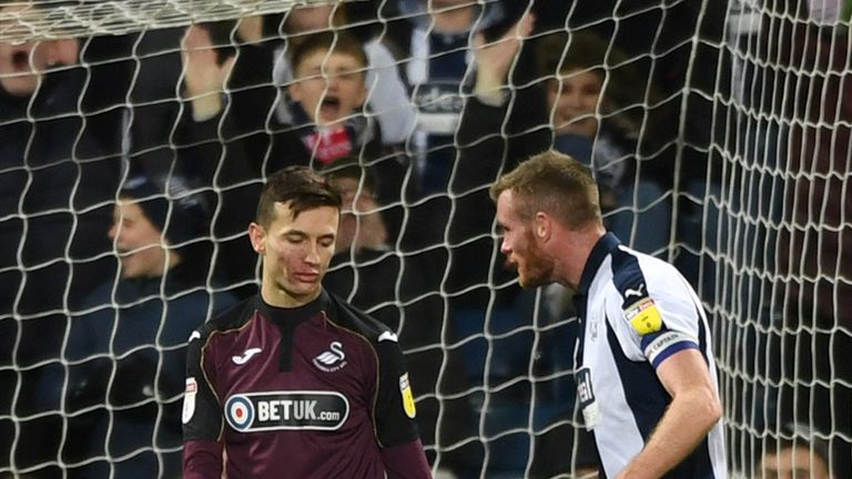Celina was left embarrassed at The Hawthorns
