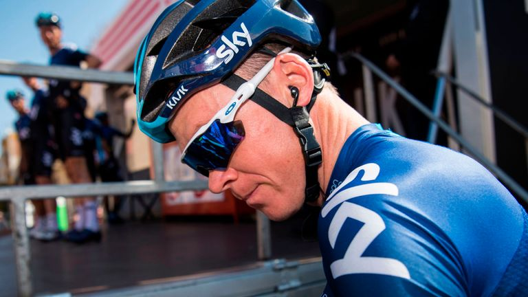 Chris Froome finished second in the 2011 Vuelta a Espana behind Juan Jose Cobo Acebo