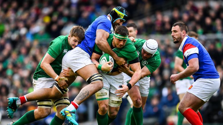 Ireland registered a bonus-point win over France last Sunday to keep themselves in title contention