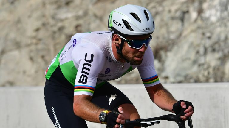 Mark Cavendish is back racing on British soil
